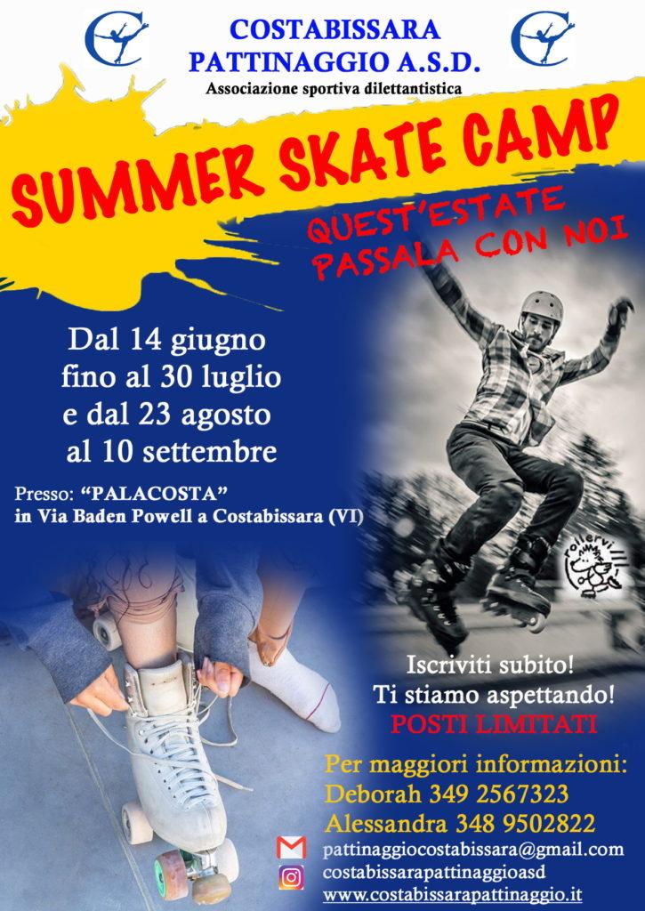 Locandina Summer Skate Camp